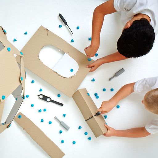 A product image of MAKEDO Cardboard Construction Toolkit (Classroom Pack)