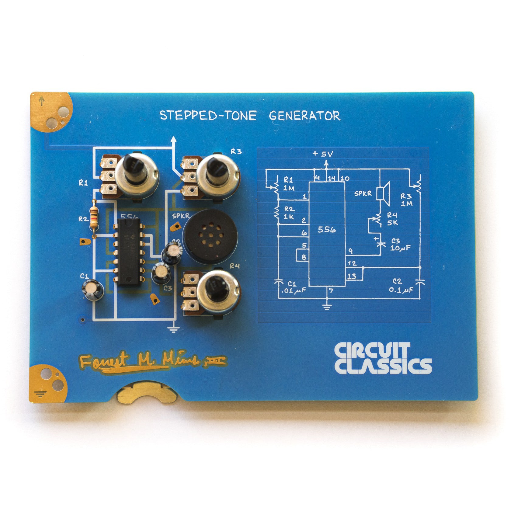About This Project Dc Coupled Audio Amplifier Stepped Tone Generatorv1531296986
