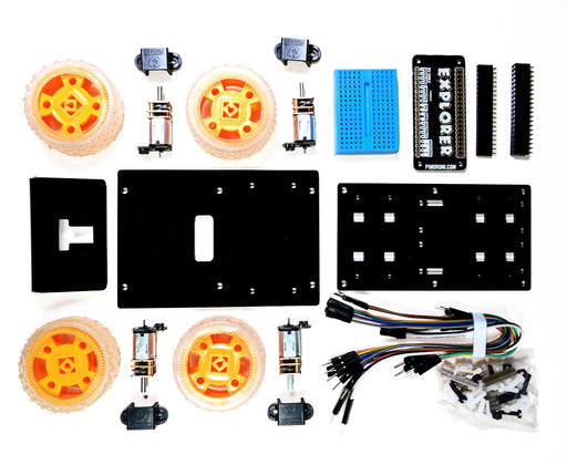 A product image of Coretec 'Tiny 4WD' Robot Rover