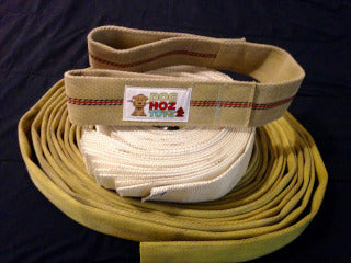 Tugger's Tug built with forestry fire hose, no squeakers - Doghoztoyz