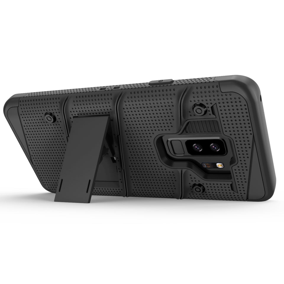 Zizo Bolt Series Case Samsung Galaxy S9 Plus (Black/Black)