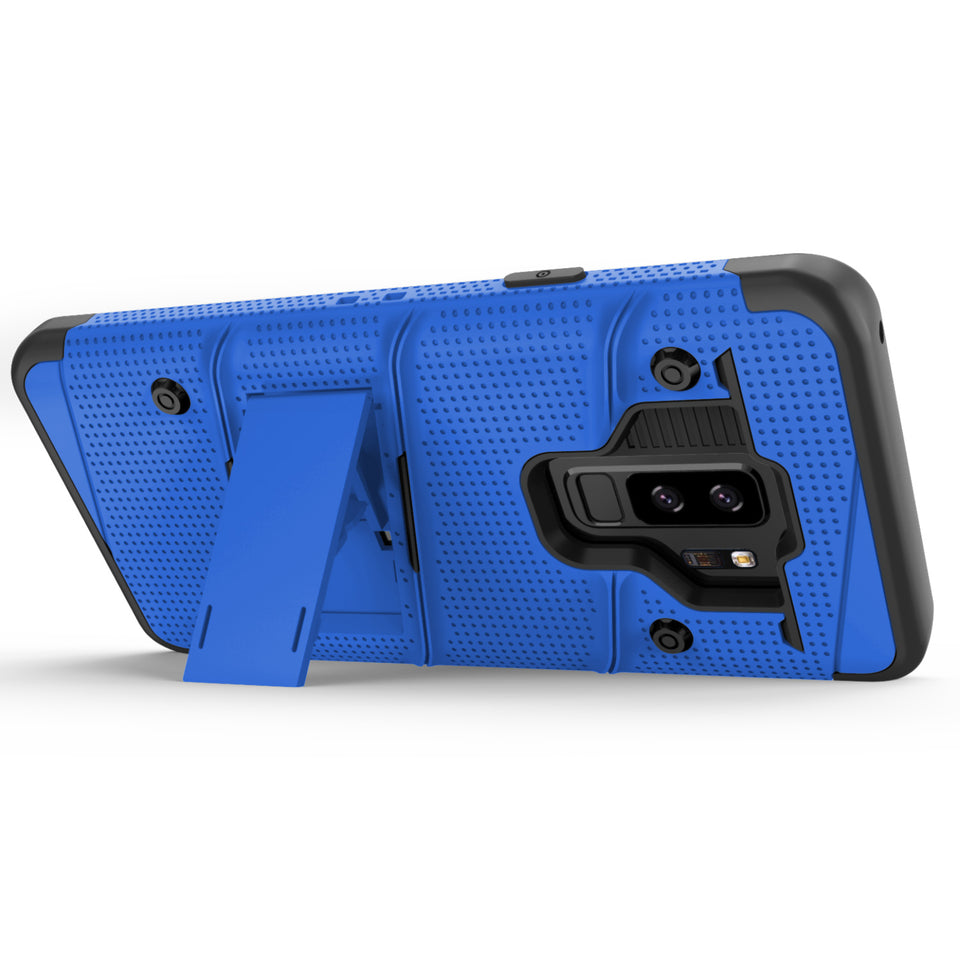 Zizo Bolt Series Case Samsung Galaxy S9 Plus (Blue/Black)