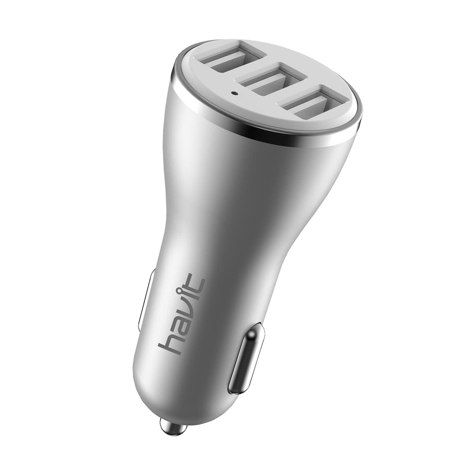 HAVIT H212 3-USB Port Car Charger 4.2 Amps