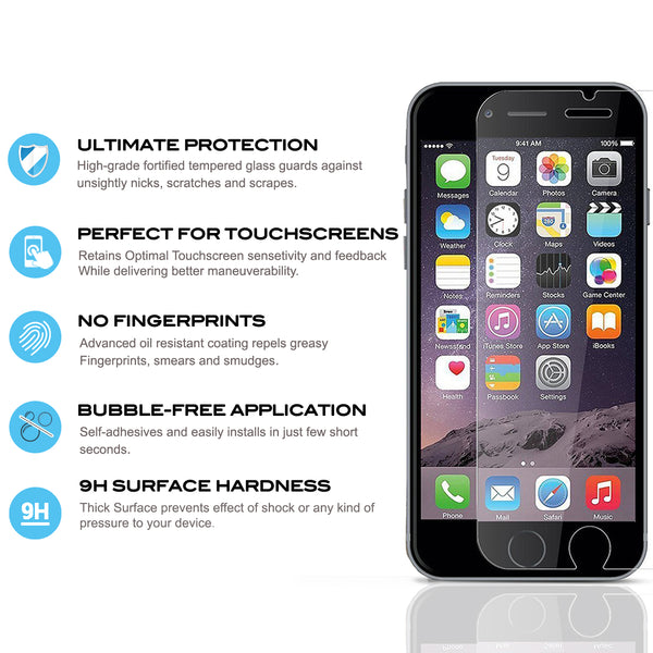 Lightning Shield iPhone 7 Plus Tempered Glass Screen Protector
