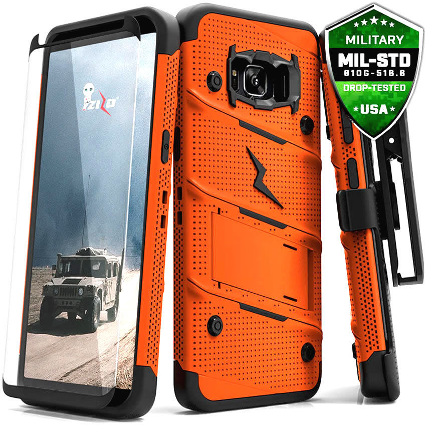 Zizo Bolt Series Case Samsung Galaxy S8 Plus