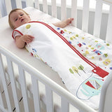 Grobag Baby Sleeping Bag Size 18-36 Months - 2.5 Tog Good Morning Sunshine Design 100% Cotton Nursery Front Zip Opening Sleep Sack