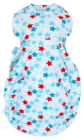 Grobag Gro Snug 2-in-1 Swaddle + Grobag - Riviera (Light)