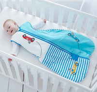 Grobag Baby Sleeping Bag Size 6-18 Months - 2.5 Tog Riviera Design 100% Cotton Multicoloured Nursery Front Zip Opening Sleep Sack