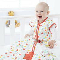 Grobag Baby Sleeping Bag Size 6-18 Months - 2.5 Tog Party Animals Design 100% Cotton Multicoloured Nursery Front Zip Opening Sleep Sack
