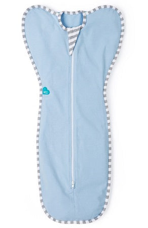Love To Dream Swaddle UP Baby Blanket (Stage 1 - 3-6 Kg Small 1.0 Tog) - Blue