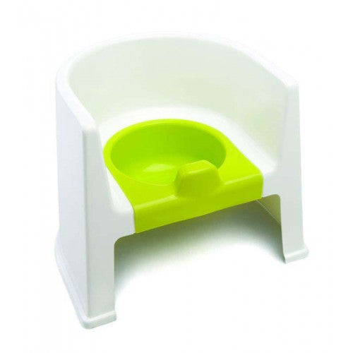The Neat Nursery Potty Chair For Kids Toddler Toilet Training Non Slip With Arm Rests - Lime