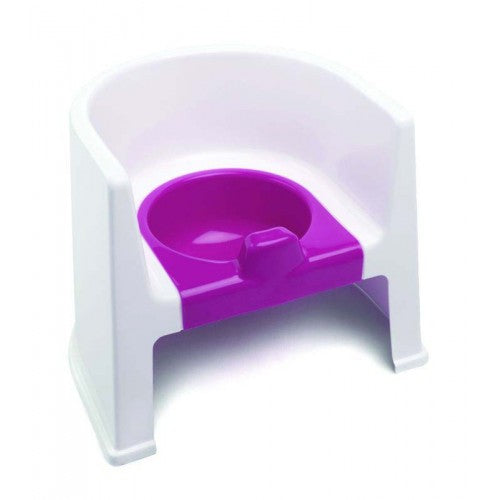 The Neat Nursery Potty Chair For Kids Toddler Toilet Training Non Slip With Arm Rests - Pink