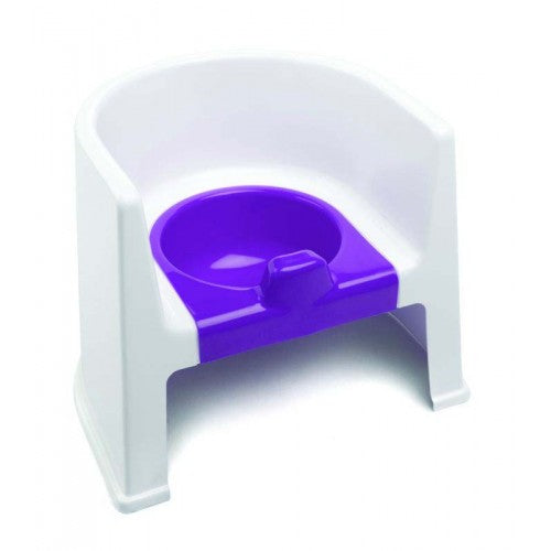 The Neat Nursery Potty Chair For Kids Toddler Toilet Training Non Slip With Arm Rests - Plum