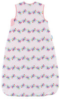 Grobag Baby Sleeping Bag Size 0-6 Months - 2.5 Tog Rosey Posie Design 100% Cotton Multicoloured Nursery Side Zip Opening Sleep Sack