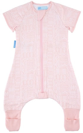 Grobag GroRomper One Piece Sleepsuit Scandi Harvest Pink 24-36 Months - Light