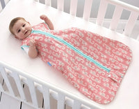 Grobag Baby Sleeping Bag Size 18-36 Months - 0.5 Tog Sea Horsey 100% Cotton Multicoloured Nursery Front Zip Opening Sleep Sack