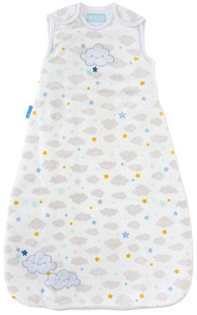 Grobag Baby Sleeping Bag Size 6-18 Months - 3.5 Winter Tog Sleepy Sky Design Nursery Side Zip Opening Sleep Sack