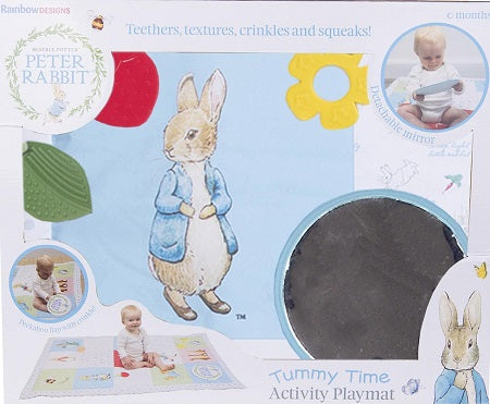 Peter Rabbit Tummy Time Activity Mat