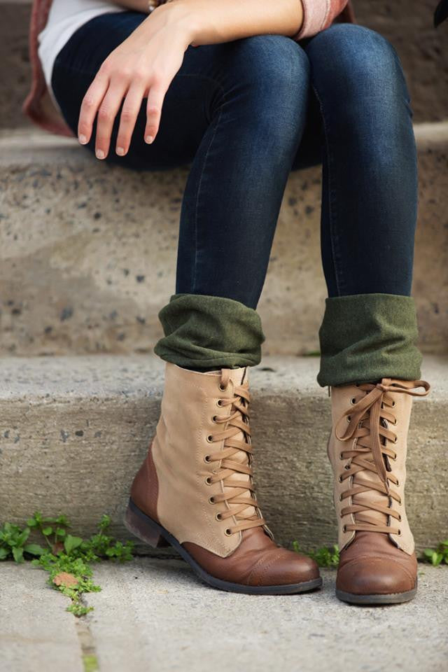 Blondie Boot cuffs