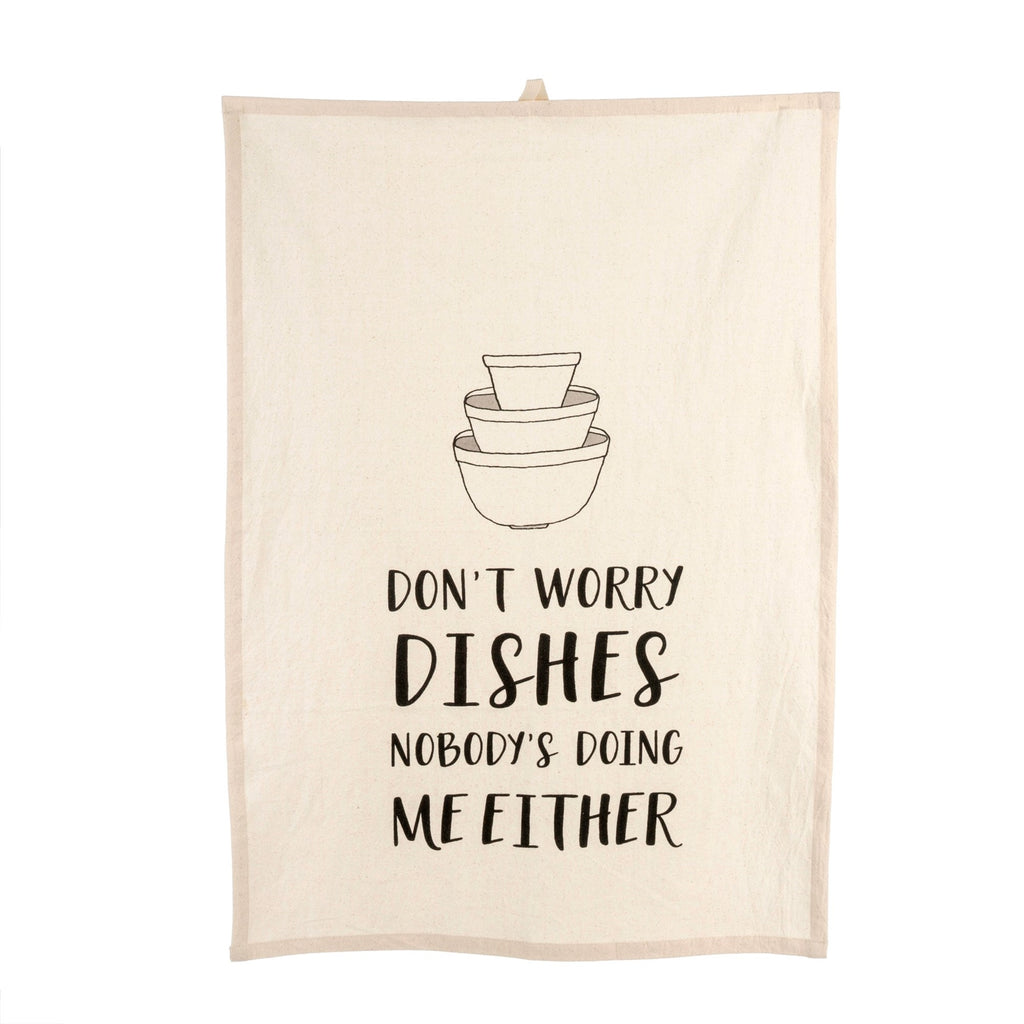 Don't Worry Dishes T-Towel