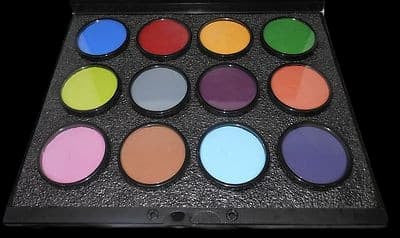 12-Color ProPalette B - Paradise Makeup AQ by Mehron