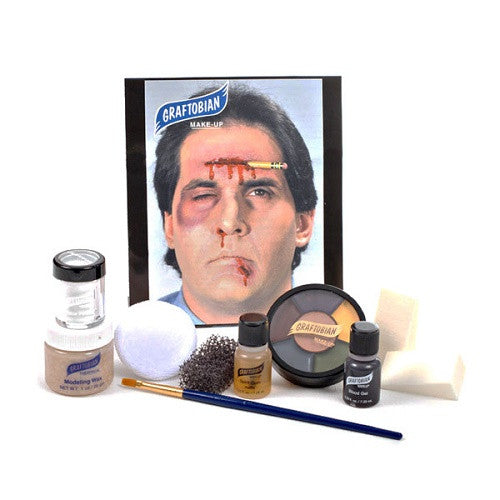 trauma wounds makeup kit special effects makeup horror makeup halloween