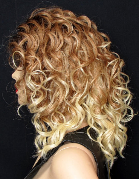 Cairo Lace Front Curly Wig By Sepia High Heat Friendly