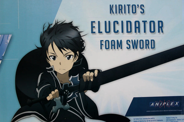Sword Art Online Officially Licensed Kirito's Elucidator Foam Sword ON SALE!
