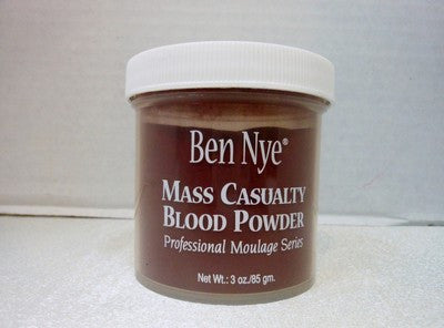 Ben Nye Mass Casualty Blood Powder 3oz/85gm Moulage, Horror, fort collins Zombie