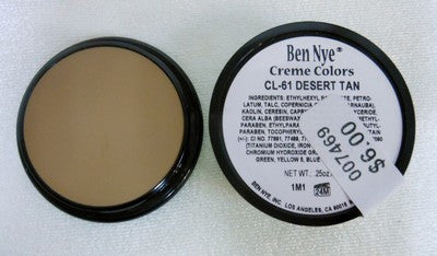 Ben Nye Primary Colors Creme Liners Desert Tan CL-61 Creme Makeup .25oz
