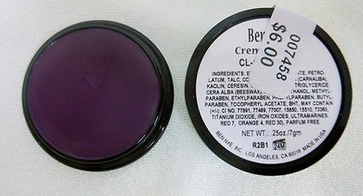 Ben Nye Primary Colors Creme Liners Purple CL-18 Creme Makeup