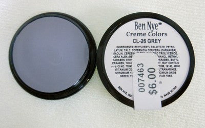 Ben Nye Primary Colors Creme Liners  Grey CL-26 Creme Makeup .25oz