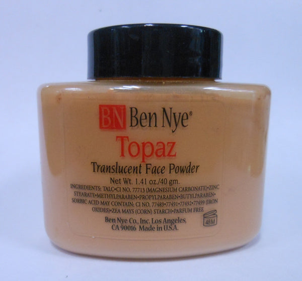 Ben Nye Classic Translucent Face Powder TP-3 Topaz