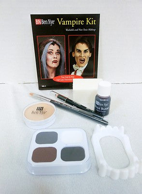 Ben Nye Vampire Makeup Kit HK-1 Halloween Makeup, Horror, Goths, Gore