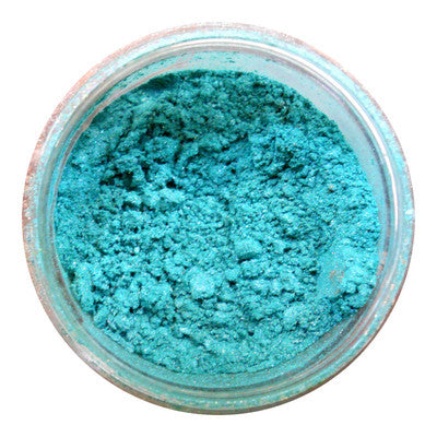 Ben Nye Lumiere Luxe Powder LX-11 Turquoise Shimmer, Eye Shadow