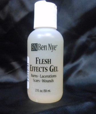 Ben Nye Flesh (Clear) Effects GE-4 Gel 2fl.oz/59ml. Moulage, Zombie, Horror,Gore