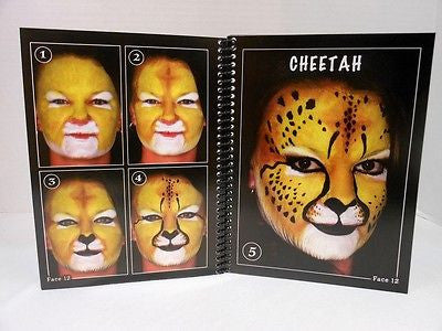Wolfe Brothers Cheat Book Volume 3 Top Secret Animals  Face Painting