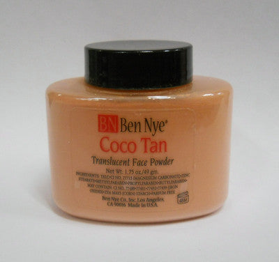 Ben Nye Classic Translucent Face Powder TP-44 Coco Tan