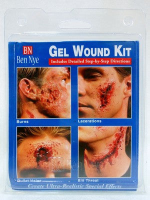 Ben Nye Gel Effects Kit GE-10 ,Moulage,  Zombies, Gore