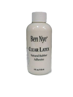 Ben Nye Clear Liquid Latex LR-25 4fl.oz/118ml. Moulage, Zombies, Wrinkles,