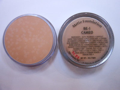Ben Nye Matte Foundation Soft Beige Series Cameo BE-1 .5oz/14gm