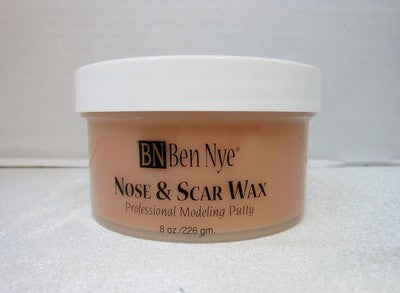 Ben Nye Nose and Scar Wax For Wounds Fair NW-3 8oz/226gm