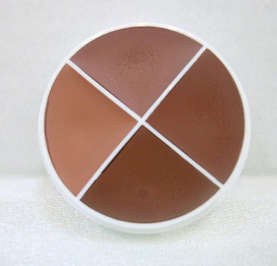 Ben Nye Conceal/Contour Shadow  4 Color Wheel  MediaPro SK-3 .5oz/14gm