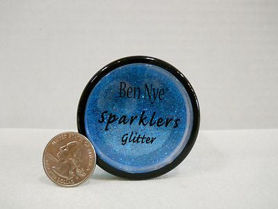 Ben Nye Sparklers Glitter LD-5 Royal Blue  Non Metallic .53oz/15gm