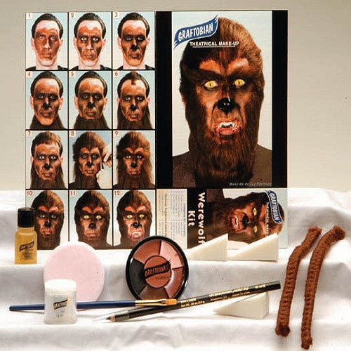 Werewolf Complete Make-up Kit By Graftobian
