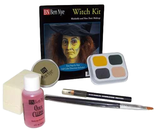 Ben Nye Complete Witch Makeup Kit HK-3 Halloween Makeup Scary On Sale!