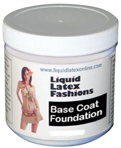 White Liquid Latex  Base Coat Ammonia-Free By Liquid Latex Fashions