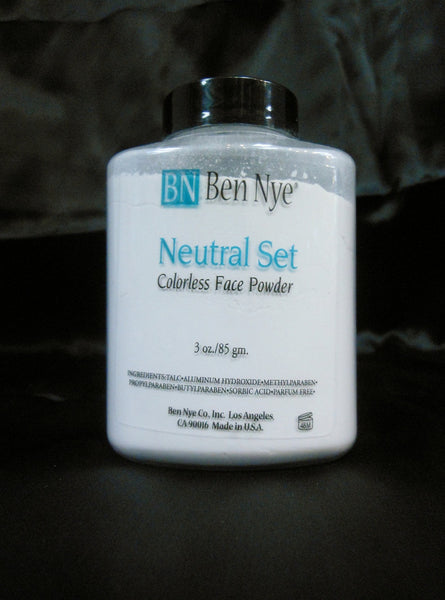 Ben Nye Neutral Set Translucent Colorless Face Powder TP-6  3 oz/85 Gram