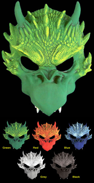 Dragon Half Mask  By Scream Theme Studios