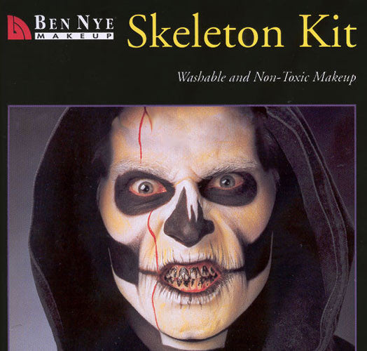 Ben Nye Skeleton Makeup Kit HK-4 @ The Life Of The Party